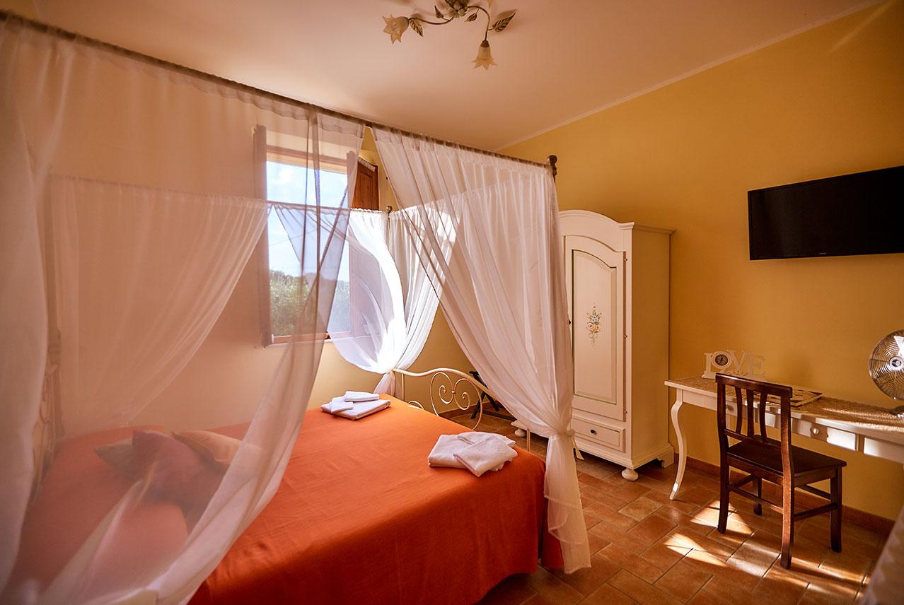 camera da letto tramontana