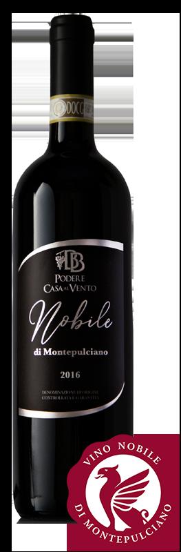 nobile 2016 con logo consorzio vino nobile